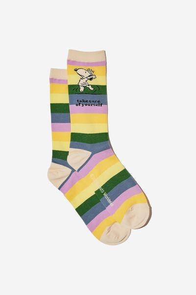 Socks, LCN PEA TAKE CARE RAINBOW