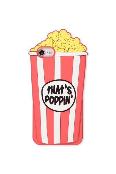 Shaped Silicone Phone Cover Universal 6,7,8, POPCORN