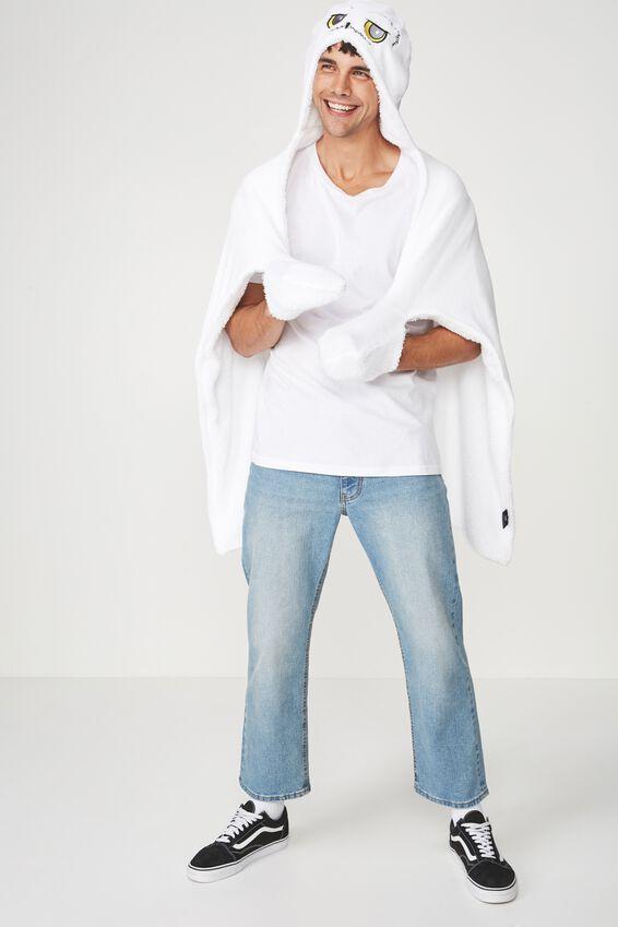 Harry Potter Novelty Hooded Blanket, LCN HEDWIG