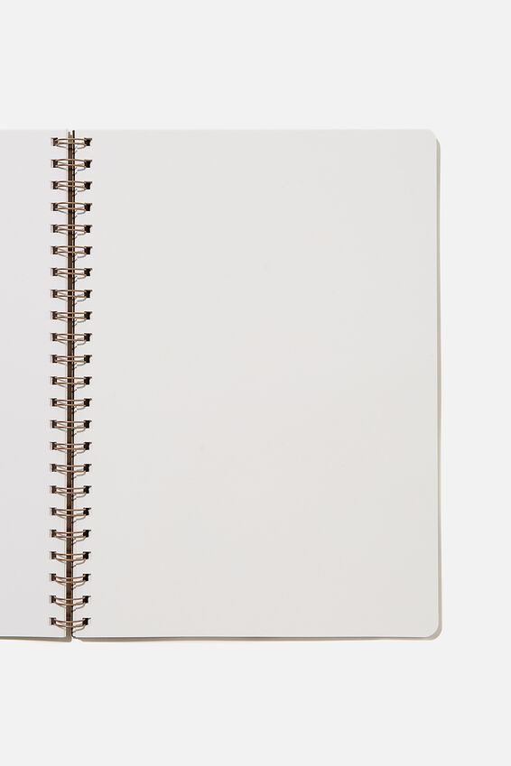 A4 Blank Daily Scribe Journal, RUSSET