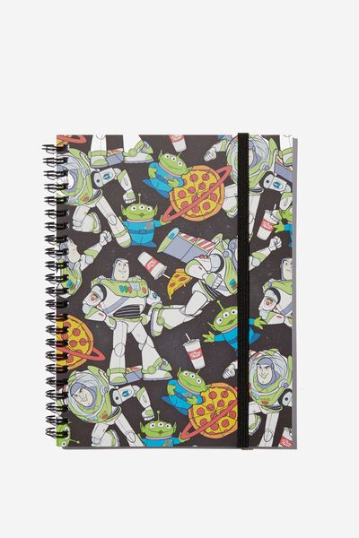 Small Spinout Notebook - V, LCN DIS TS BUZZ