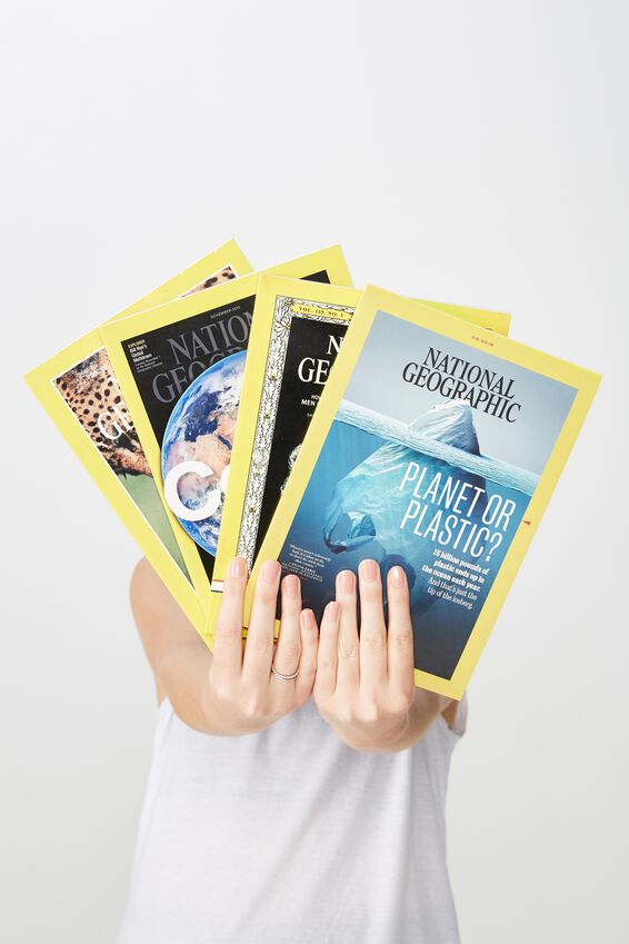National Geographic Notebook, LCN NAT ICEBERG