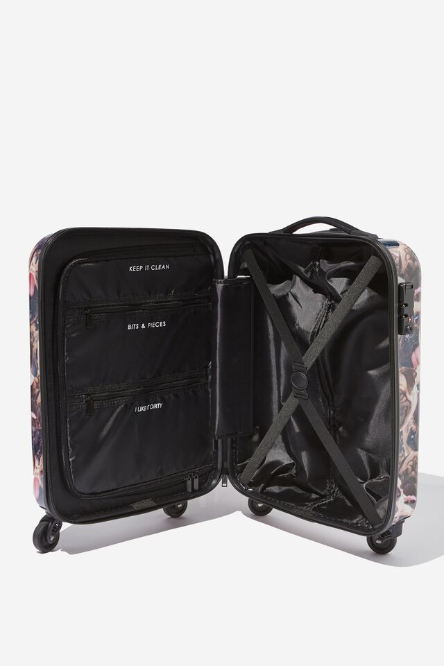 Tsa Small Suitcase, PUG FACE SMASH