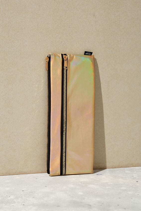 Patti Pencil Case, GOLD