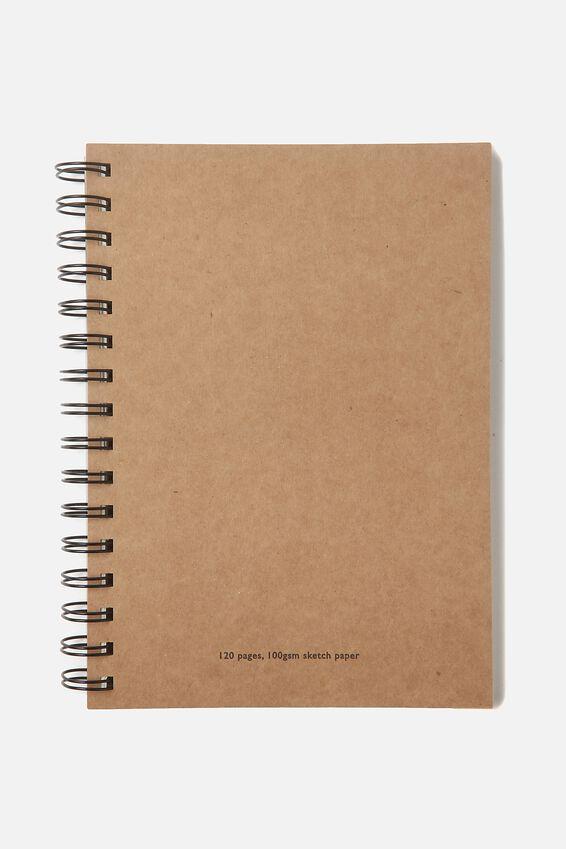 Visual Sketch Paper Diary Medium, CRAFT