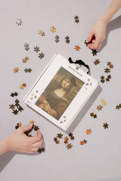1000 Piece Puzzle, MODERN LISA