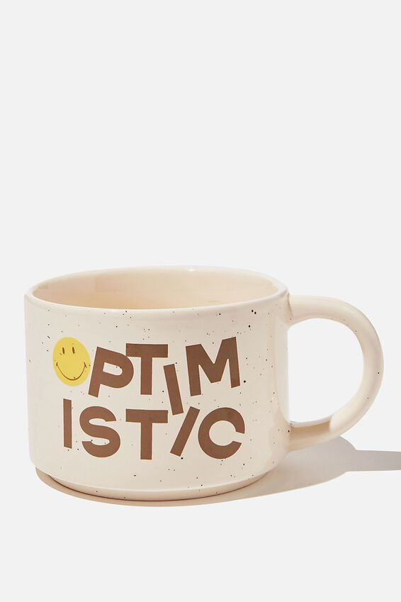 Big Hit Mug, LCN SMI OPTIMISTIC