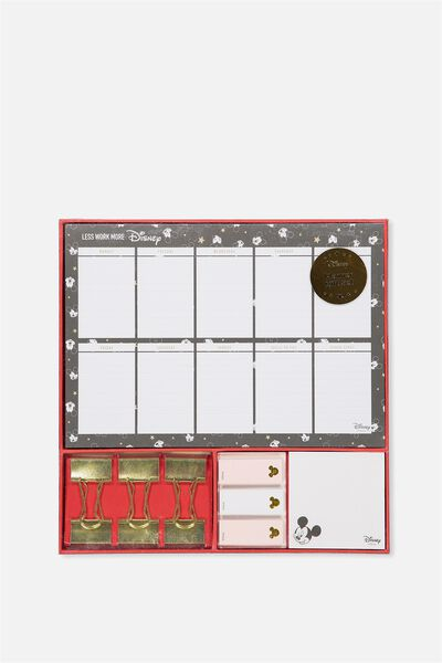 Planner Set, LCN MICKEY PINK
