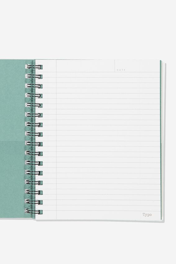 A5 Campus Notebook Recycled, MOUNTAIN HIGH