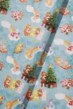 Christmas Wrapping Paper Roll, LCN CLC CARE BEARS CHRISTMAS