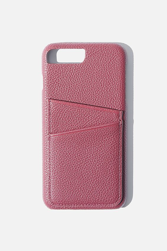 The Cardholder Phone Cover 6,7,8 Plus, MULBERRY