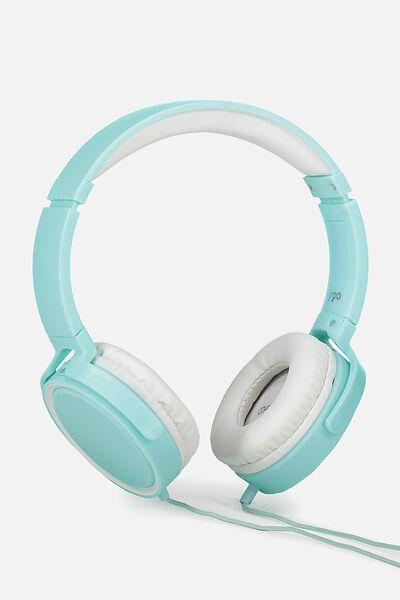 Reverb Headphones, LIGHT BLUE