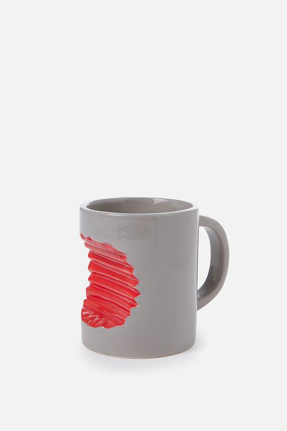 Novelty Shaped Mug, SHARK BITE