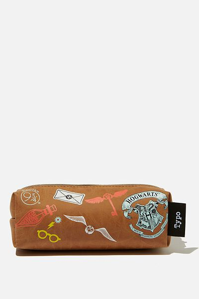 Bailey Pencil Case, LCN WB HPO HARRY POTTER PATCHES