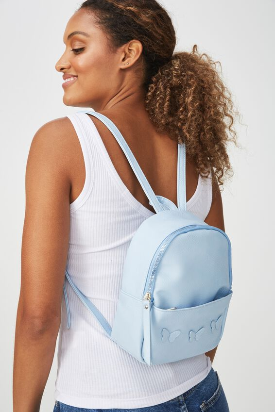 Mini Cairo Backpack, CORNFLOWER BUTTERFLIES