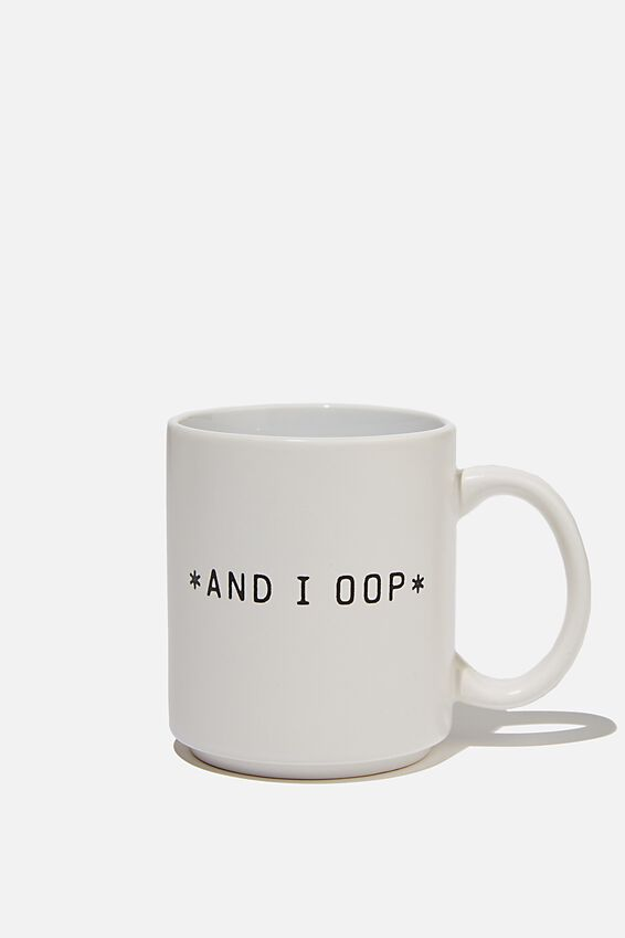 Daily Mug, AND I OOP
