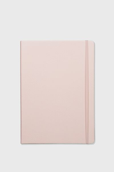 "A4 Dot Buffalo Journal (8.27"" x 11.69""), PEBBLED BLUSH"