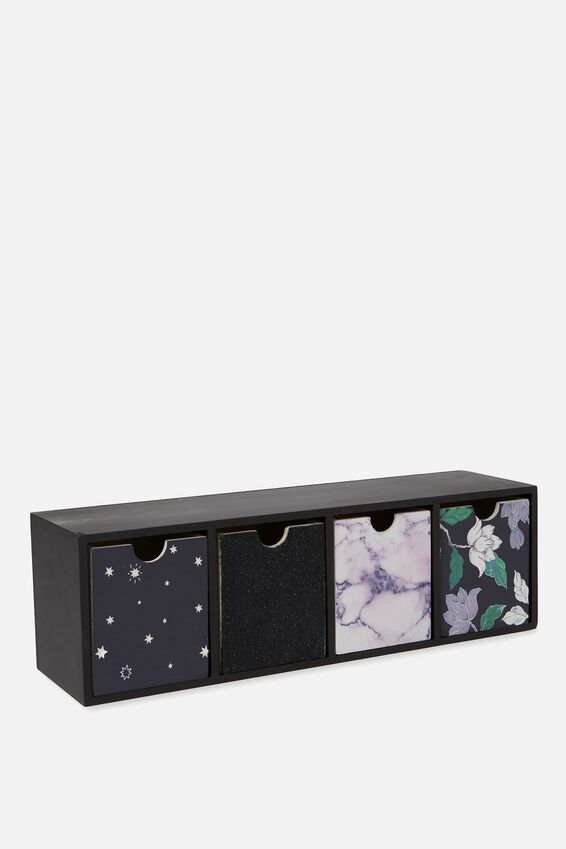 Quick Desk Drawer Storage, LUSH FLORAL