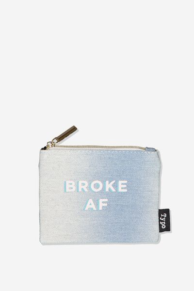 Fashion Coin Purse, BROKE!!