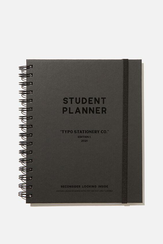 Student Planner 2021, BLACK