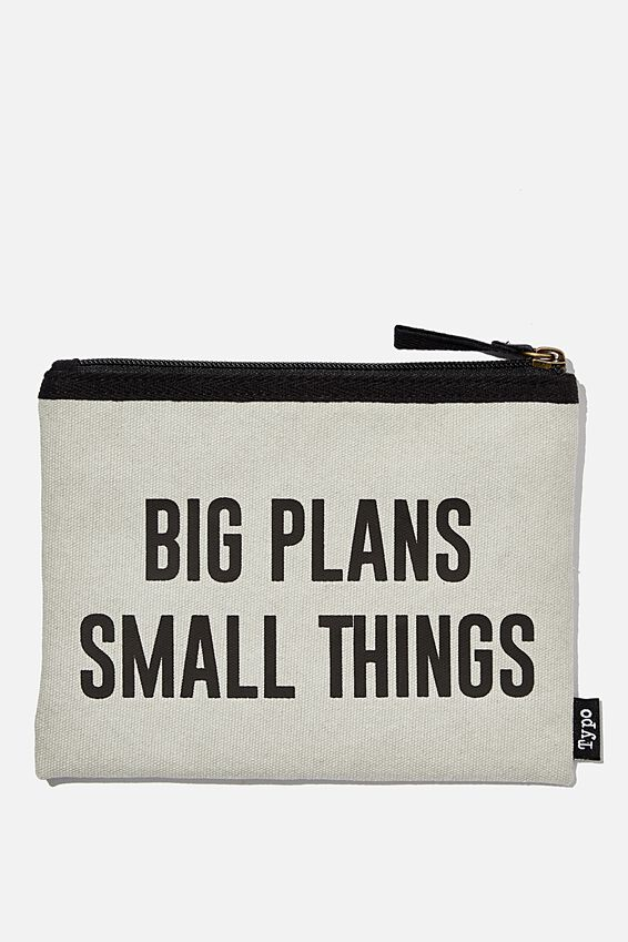 Conscious Campus Pencil Case, BIG PLANS