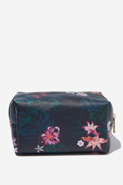 Made Up Cosmetic Bag, JUNGLE FLORAL