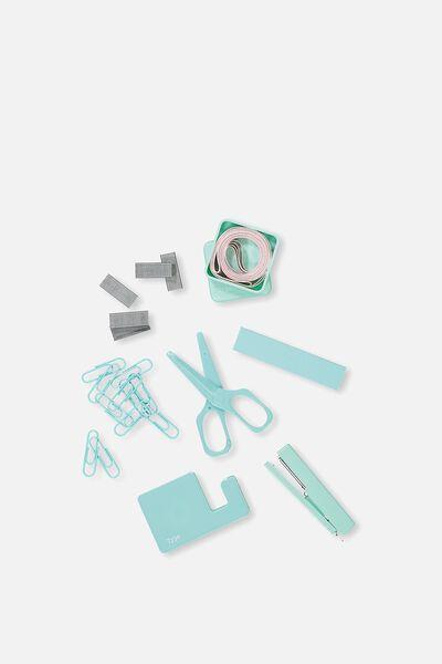 Mini Stationery Box Set, AQUA