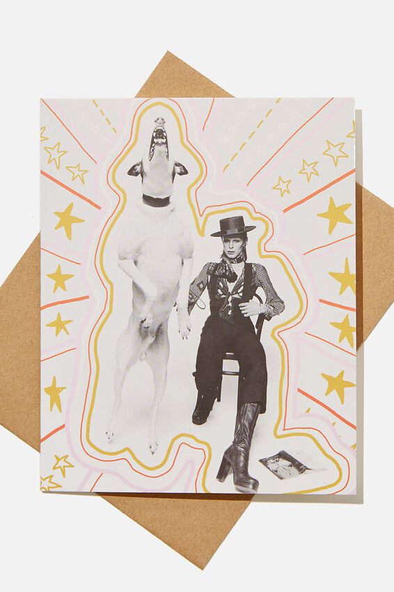 Blank Card, LCN ICO TERRY ONEIL MAN AND DOG