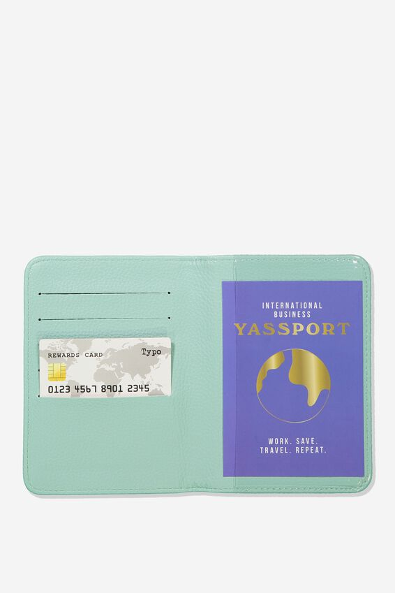 Rfid Passport Holder, PARADISE WATERCOLOUR