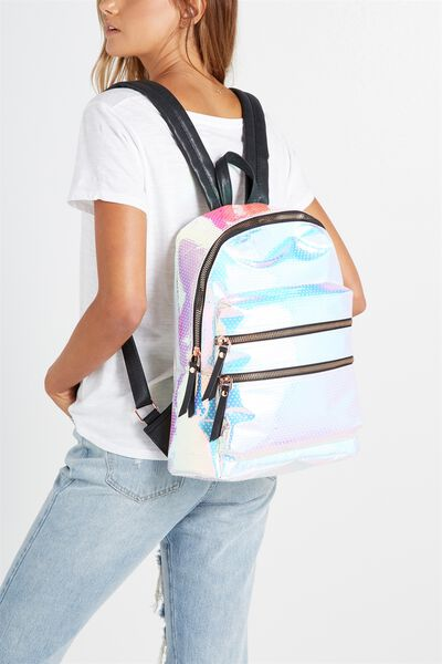 Berlin Backpack, IRIDESCENT POLKA