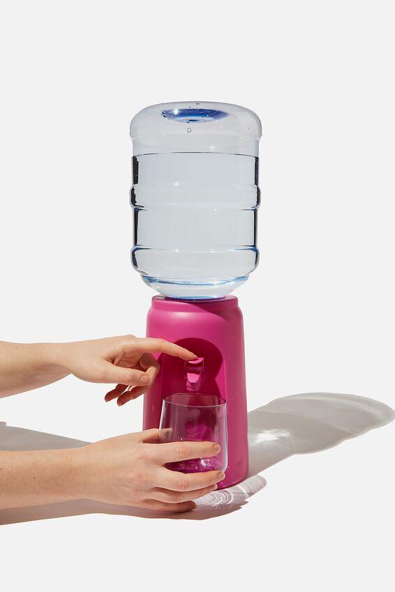 Desktop Water Cooler, MAGENTA