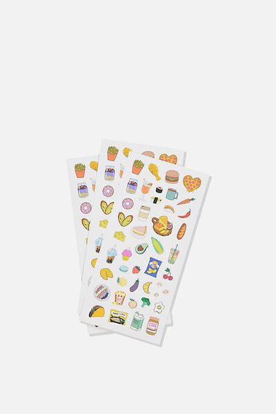 Sticker Pack, FOOD