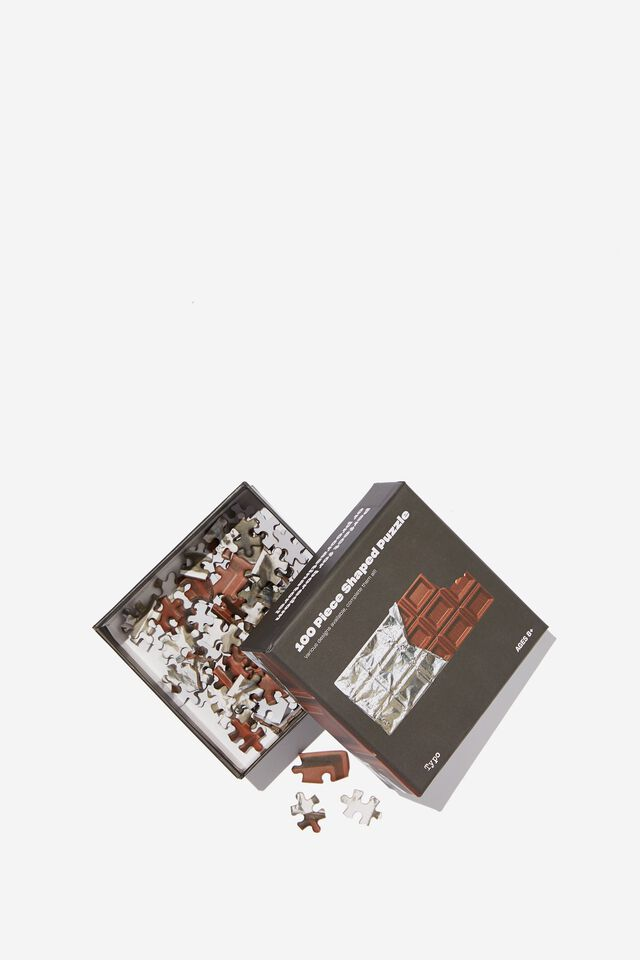 100 Piece Puzzle, CHOCOLATE BAR