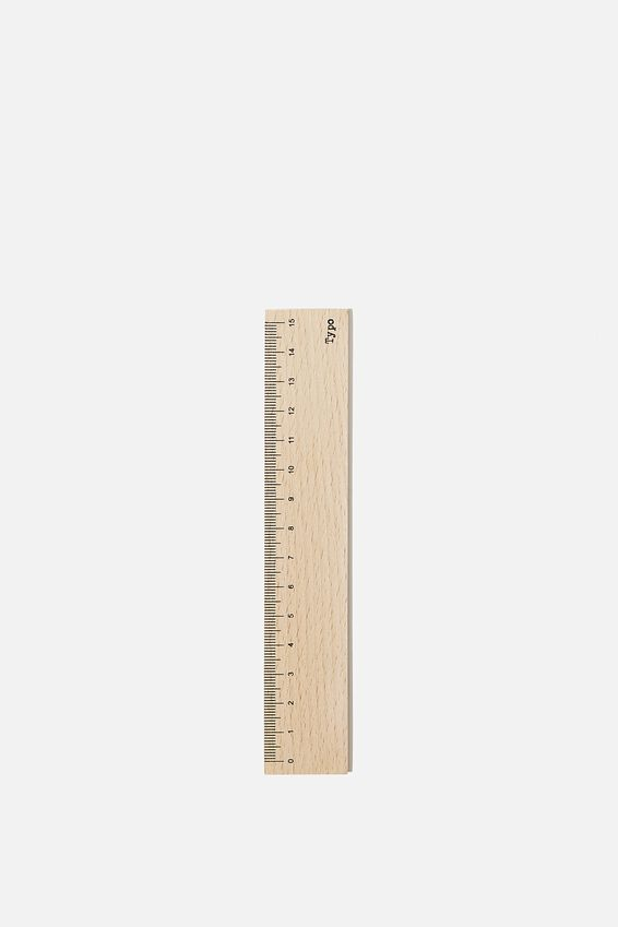 Mini Ruler, WOOD