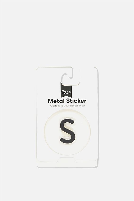 Metal Stickers, BLACK S