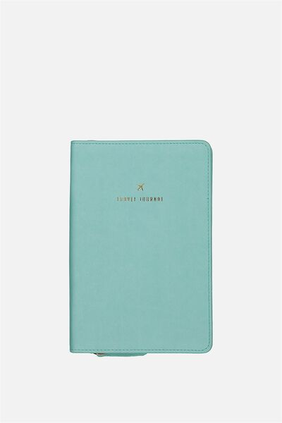 Buffalo Travel Journal, AQUA BLUE