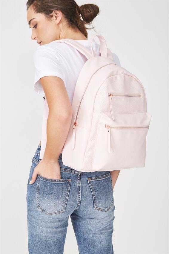 Campus Backpack, PERF PINK