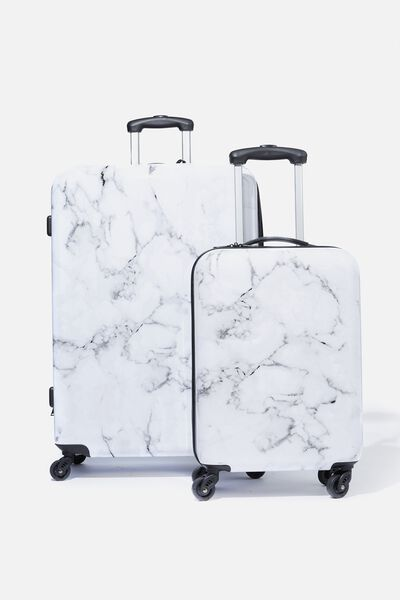 Suitcase Luggage Set, MARBLE
