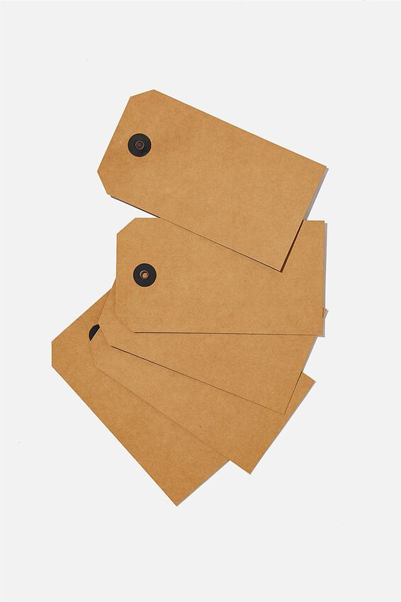 Gift Tag 5 Pack, KRAFT