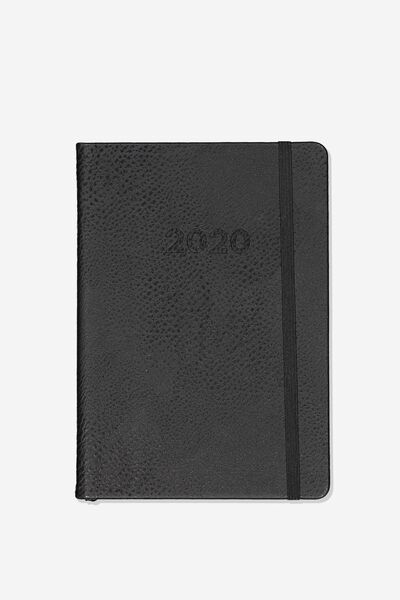 2020 A5 Weekly Buffalo Diary, BLACK