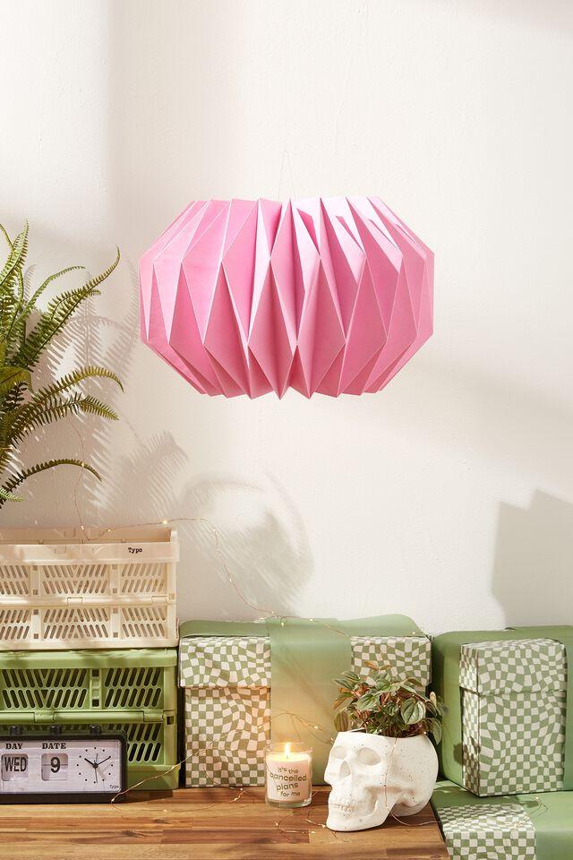 Paper Round Honeycomb Decoration, PINK