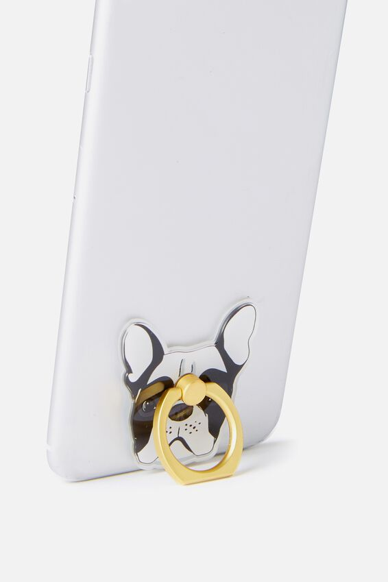Phone Rings, WHITE FRENCH BULLDOG