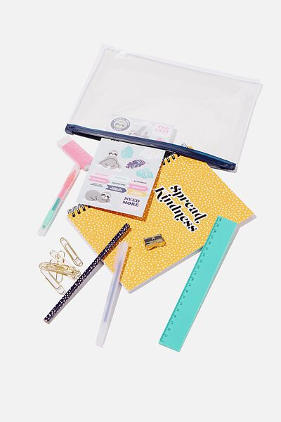 A5 Stationery Kit, SPREAD KINDNESS