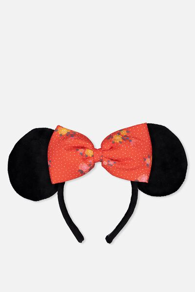 Novelty Headband, LCN MINNIE MOUSE EARS