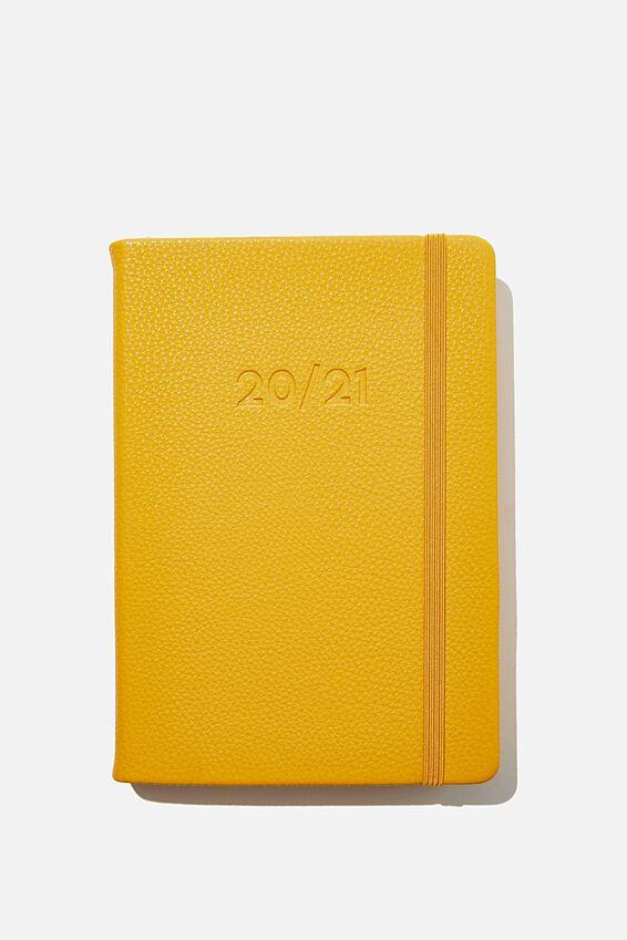 2020 21 A5 Daily Buffalo Diary, MUSTARD