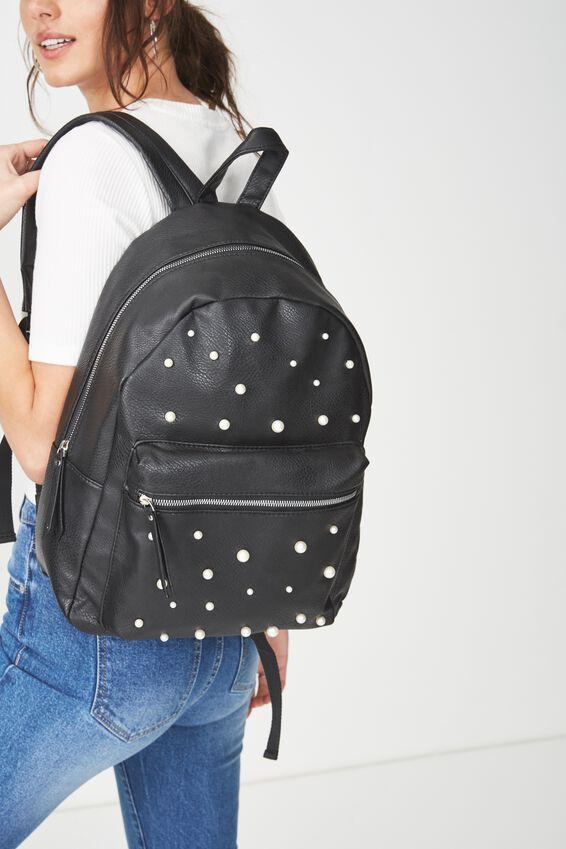 Campus Backpack, BLACK PEARLS