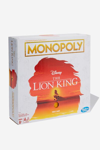 Premium Monopoly, LION KING
