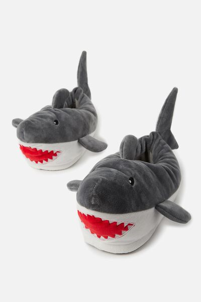 Novelty Slippers, SHARKS