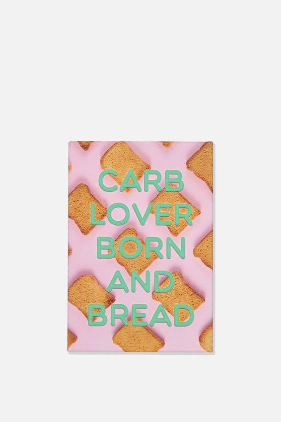 Quirky Magnets, CARB LOVER