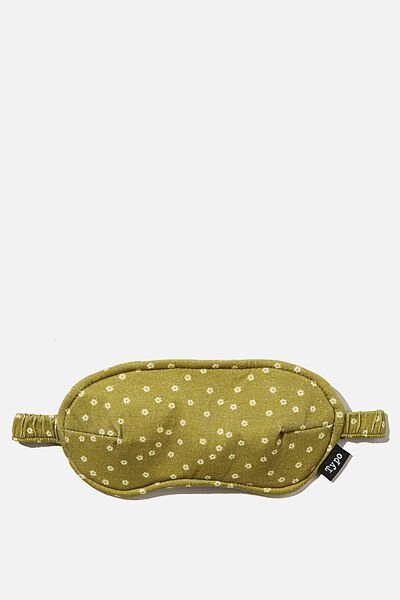 Time Out Eye Mask, MICRO DAISY TUSSOCK